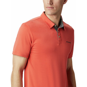Columbia Nelson Point Polo Men wildfire